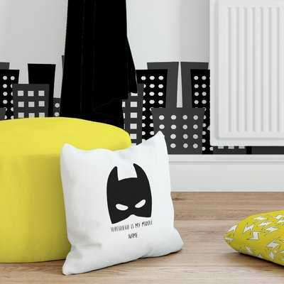 Carrion Superhero is my Middle Name Throw Pillow - Wayfair