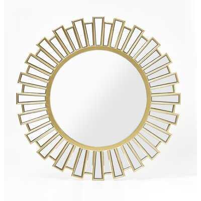Rudd Glam Beveled Accent Mirror - Wayfair