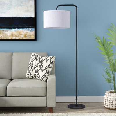 "Dale 63.75"" Arched Floor Lamp - Birch Lane"