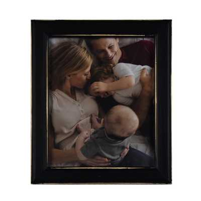Fetco Longwood Rustic Black 8 in. x 10 in. Picture Frame - Home Depot