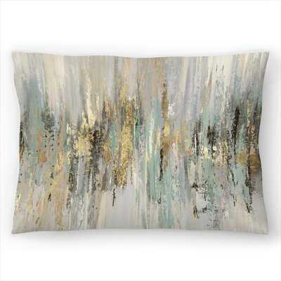 Dripping Gold I Lumbar Pillow Cover - Wayfair