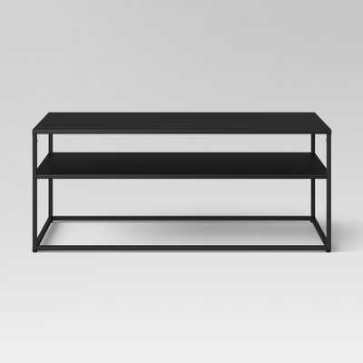 Glasgow Metal Coffee Table Black - Project 62 - Target