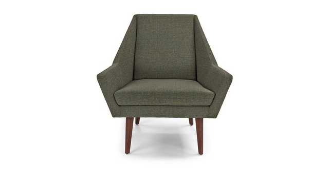 Angle Hemlock Green Chair - Article