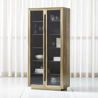 Freda Glass Door Cabinet - Crate and Barrel