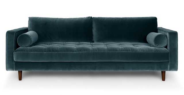 Sven Pacific Blue Sofa - Article