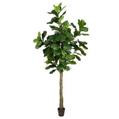 Artificial Potted Floor Foliage Tree in Pot - Wayfair