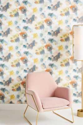 Impressionist Floral Wallpaper - Anthropologie