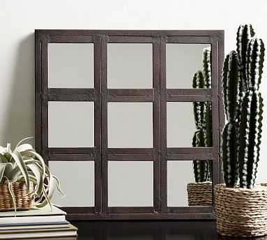 Grid Accent Mirror - Pottery Barn
