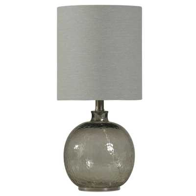 Table Lamp Gray (Includes Light Bulb) - StyleCraft - Target