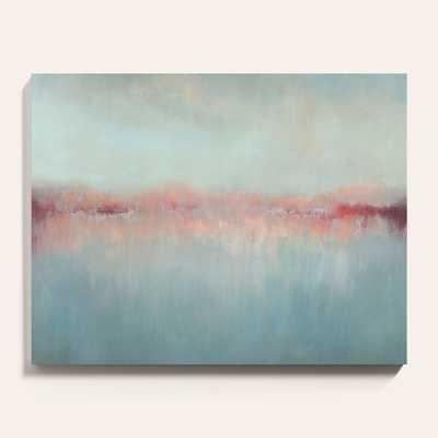"Ballard Designs Morning Blush Stretched Canvas  30"" x 38"" - Ballard Designs"