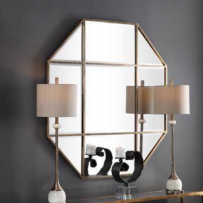 Nata Octagon Modern and Contemporary Beveled Accent Mirror - Wayfair