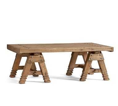 Adams Coffee Table, Reclaimed Pine - Pottery Barn