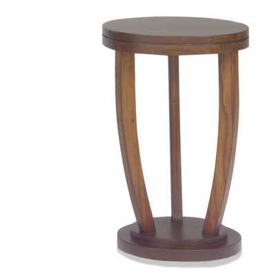 Chamorro Round Stand End Table - Wayfair