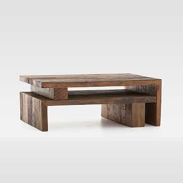 Peroba Nesting Coffee Table - West Elm
