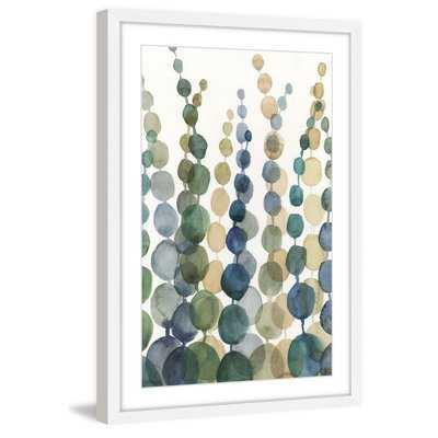 'Pompom Botanical I' Framed Painting Print - AllModern