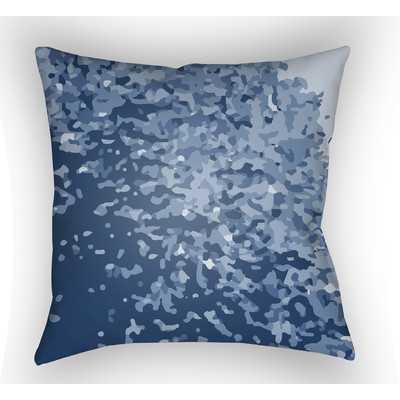 Konnor Sky Blue Throw Pillow - Wayfair