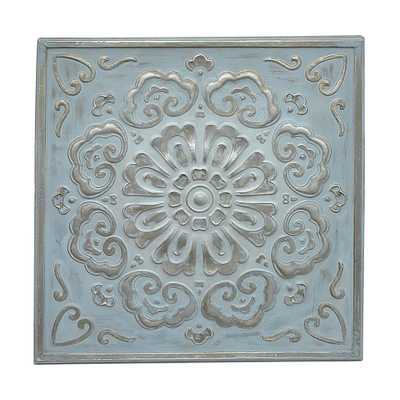 Square Medallion Wall Art - Home Depot