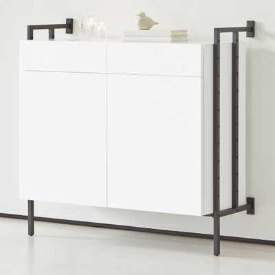Flex Modular Closed Storage Cabinet Set - Crate and Barrel