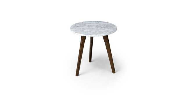 Mara Walnut Side Table - Article