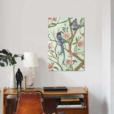 'Delicate Chinoiserie I' Graphic Art Print on Canvas - Wayfair