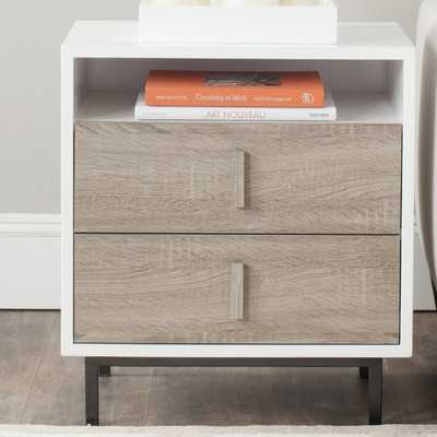 Kefton End Table with Storage - Wayfair