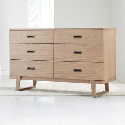 Kids Cameron Wide Ash Dresser - Crate and Barrel
