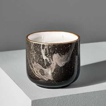Modern Elements Candle, Small Tumbler, Black, Onyx, 11 oz - West Elm