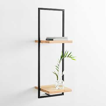 Shelfmate Tall Vertical Double Wall Shelf - West Elm