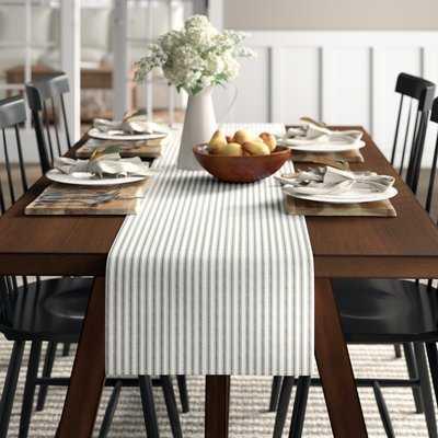 Tegan Table Linen Table Runner - Birch Lane