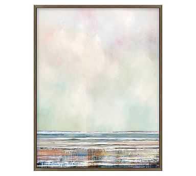 "Morning Awakening Framed Canvas, 30.25 x 39.25"" - Pottery Barn"