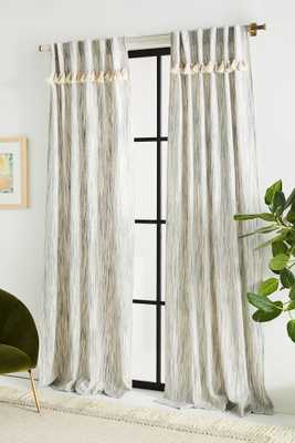 Tasseled Sadie Curtain - Anthropologie
