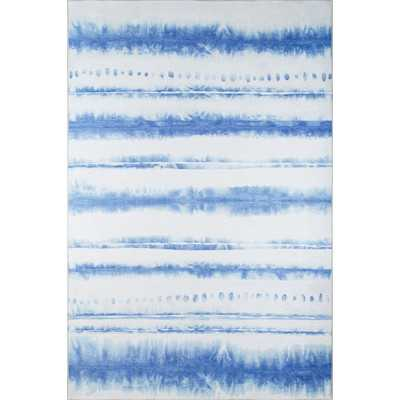 Sand and Surf Blue/White Area Rug - Wayfair
