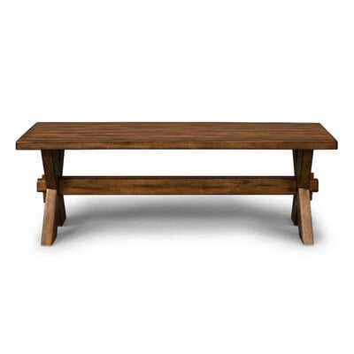 Milford Trestle Dining Bench By Canora Grey - Wayfair