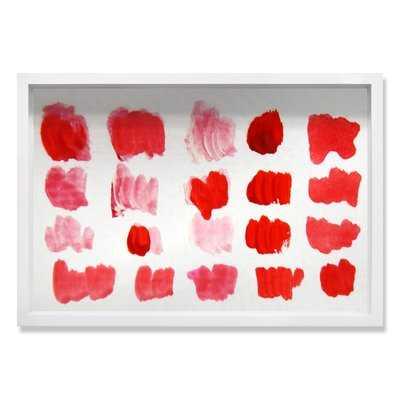 'That Shade of Red' Framed Graphic Art - AllModern