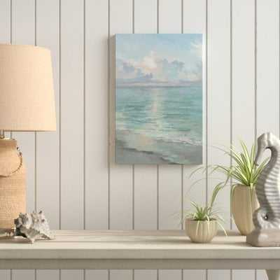 'Tranquil Waters' Acrylic Painting Print on Wrapped Canvas - Wayfair