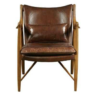 Harmony Leather Armchair - Wayfair