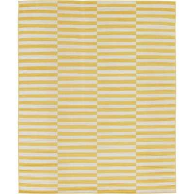 Tribeca Yellow 5x8 ft. Area Rug - Home Depot