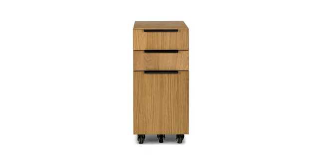 Madera Oak File cabinet - Article