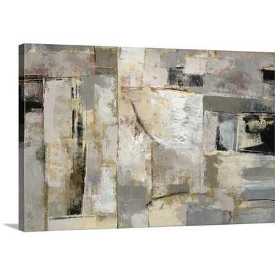 'Walking Down the Street' by Silvia Vassileva Painting Print on Canvas - Wayfair
