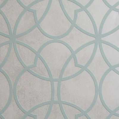 Origin Removable Wallpaper, Green - Home Depot