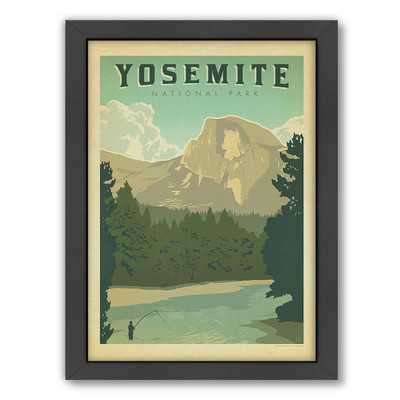 National Park Yosemite Framed Vintage Advertisement - Wayfair