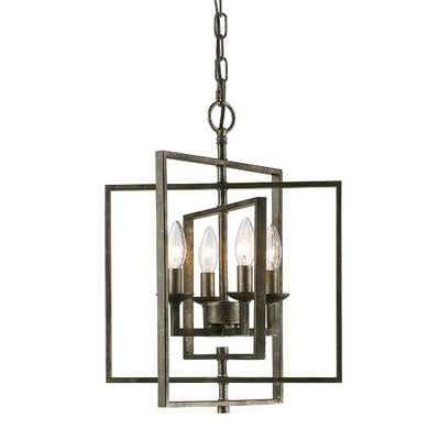 Zoe 4-Light Lantern Chandelier - Wayfair
