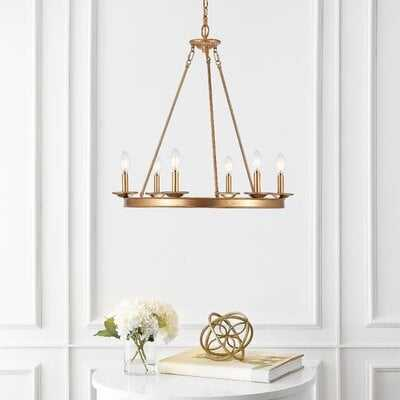 Joris 6Lt Chandelier - Wayfair