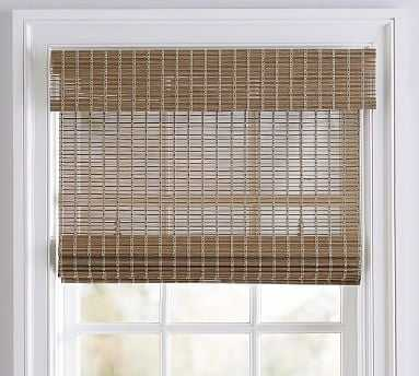 "Bali(R) Cordless Custom Natural Shade, Loft, 42 x 66"" - Pottery Barn"
