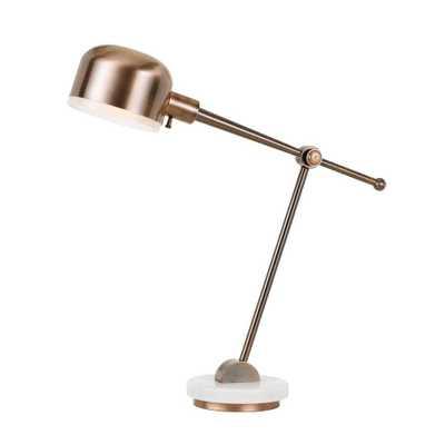 Table Lamp (Includes Energy Efficient Light Bulb) - Cal Lighting, White - Target