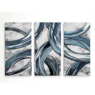 A Premium 'Ring Around' Multi-Piece Image on Canvas - Wayfair