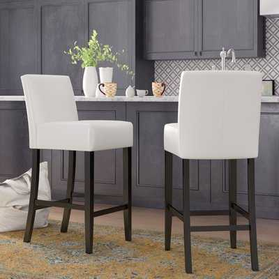 "Ridgedale 29"" Bar Stool (set of 2) - Wayfair"