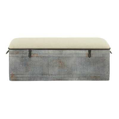 Dublin Upholstered Storage Bench - Birch Lane