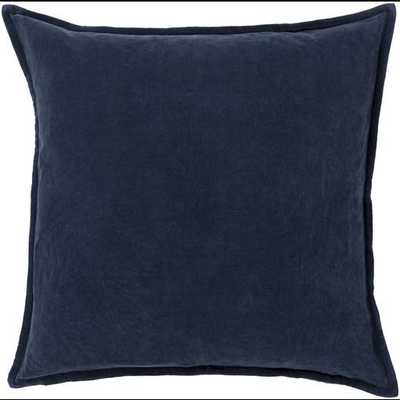 "Cotton Velvet, 22"" with Down Insert - Neva Home"