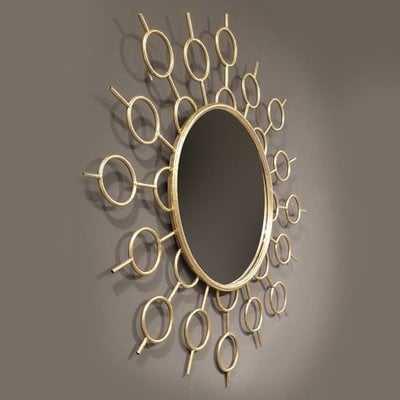 Alkire Iron Accent Mirror - Wayfair